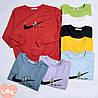 Демисезонный пуловер со спортивным значком 44-48 (в расцветках), фото 10