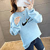 Жіночий пуловер в спортивному стилі 44-48 (в кольорах), фото 6