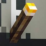 Світильник Факел Minecraft, фото 5