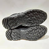 45 р. Чоловічі кросівки сітка з текстилем Адідас (Adidas) Чорні Остання пара, фото 8