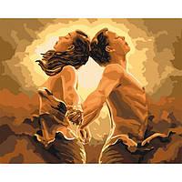 Картина малювання за номерами Ідейка Єдиний подих КНО4642 40х50см набір для розпису, фарби, полотно, пензлі
