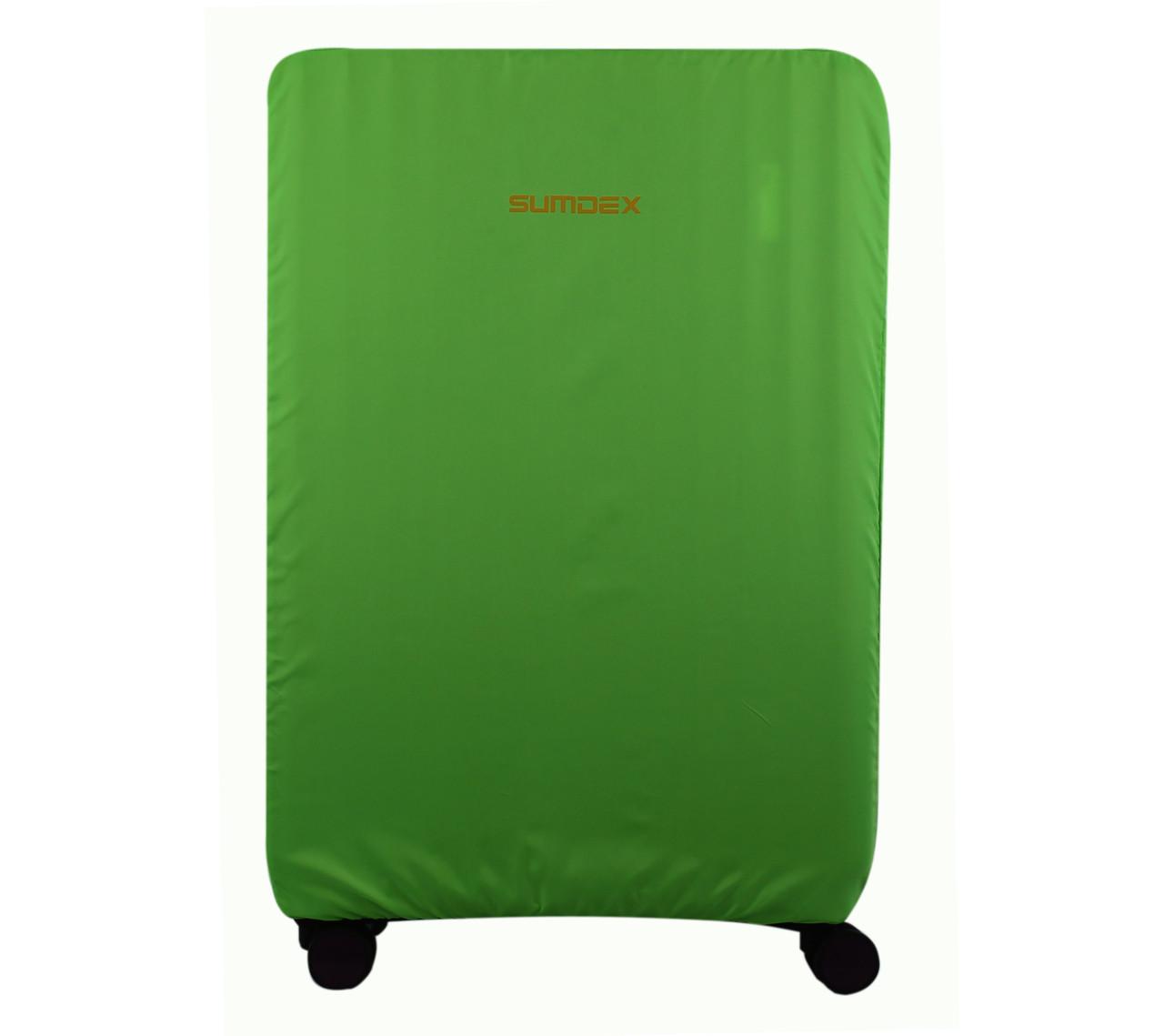 Чемодан Sumdex Чехол для чемодана XL (большой салатовый)
