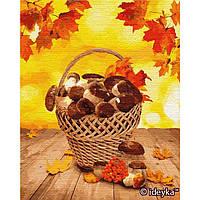 Картина рисование по номерам Идейка Лесные дары КНО5601 40х50см набор для росписи, краски, холст, кисти