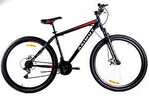 Спортивный горный велосипед 29 дюймов Azimut Energy Shimano GD 21 рама черно-красный