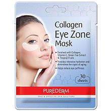 Тканинні патчі для області навколо очей Purederm Collagen 30 шт