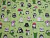 М'яке і Дихаюче Постільна білизна Бязь GOLD Євро комплект (сови на зеленому), фото 2