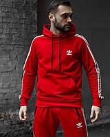 Худи унисекс Adidas Grot красное