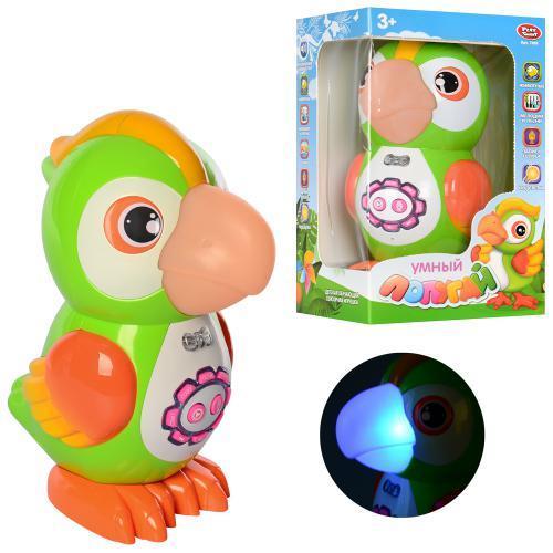 """Розвиваюча інтерактивна іграшка """"Папуга"""" (розповідає вірші, казки, пісні) Play Smart арт. 7496"""