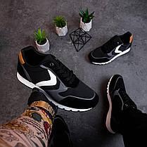 Мужские кроссовки Гилиполос черного цвета, фото 3