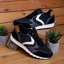 Мужские кроссовки Гилиполос черного цвета, фото 2