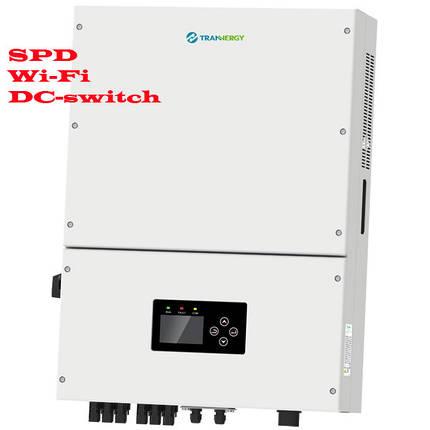 Сетевой солнечный инвертор 20 кВт трехфазный (Модель TRN020KTL), Trannergy, фото 2