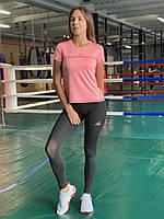 Комплект костюм спортивный компрессионный женский Adidas Адидас (L,XL)