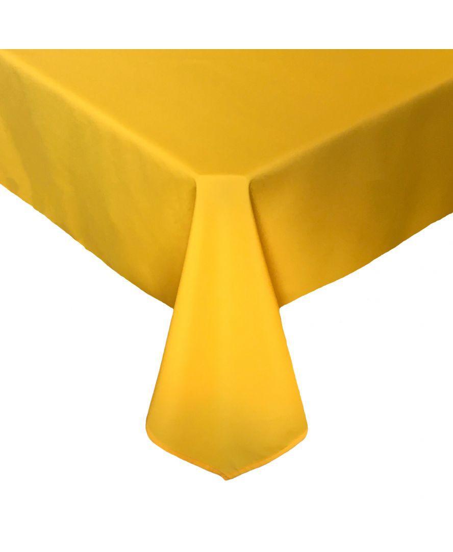 Скатерть на стол Веселка желтая