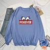 Повсякденний жіночий пуловер з написом 44-48 (в кольорах), фото 2