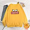 Повсякденний жіночий пуловер з написом 44-48 (в кольорах), фото 4