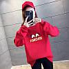 Повседневный женский пуловер с надписью 44-48 (в расцветках), фото 9