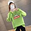 Повседневный женский пуловер с надписью 44-48 (в расцветках), фото 2