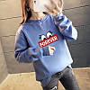 Повседневный женский пуловер с надписью 44-48 (в расцветках), фото 3