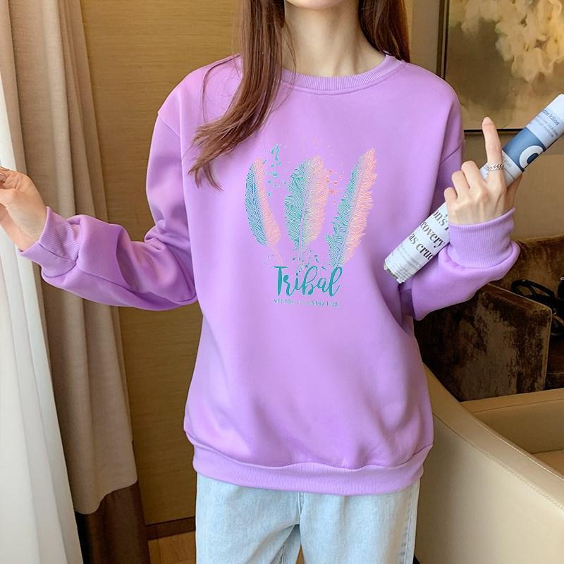 Красивий жіночий пуловер з пір'ям 44-48 (в кольорах)