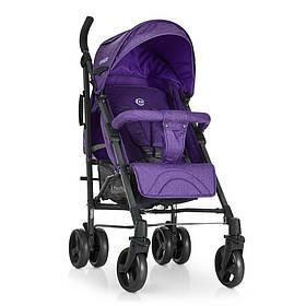 Коляска дитяча ME 1029 BREEZE Violet (1шт) прогулянкова, тростина, колеса4шт.фіолет