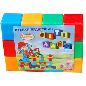 Кубики великі 12шт (22*33*8,5 см) 021 Бамсик