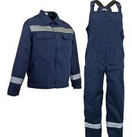 Костюм робочий чоловічий напівкомбінезон і куртка тканина Грета