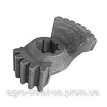 Сектор 45-3405024 рулевого механизма ГУРА колесного трактора ЮМЗ 6