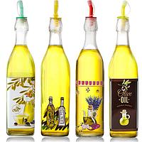 Бутылка для масла и уксуса микс 1л Прованс