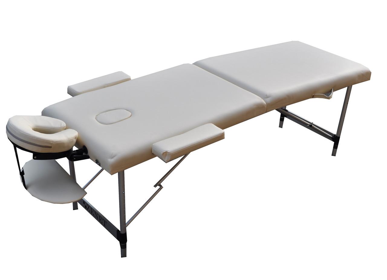 Массажный стол  ZENET  ZET-1044 размер L ( 195*70*61) CREAM