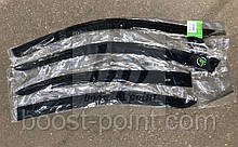 Дефлекторы окон (ветровики) Mitsubishi Lancer Sd/Hb 2007 / Митсубиси Лансер седан/хетчбек 2007
