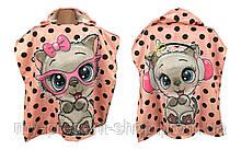Детские полотенца с капюшоном Keekers Кошка девочка