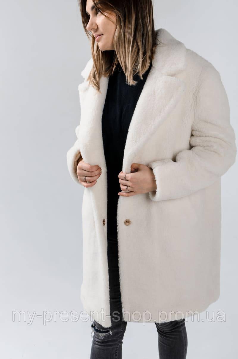 Женская одежда из элитной шерсти мериноса Шубка YV MERINO (Размеры от XS до XL)