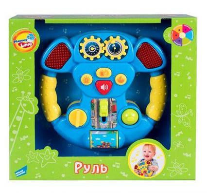 Интерактивный руль, музыкальный 60095