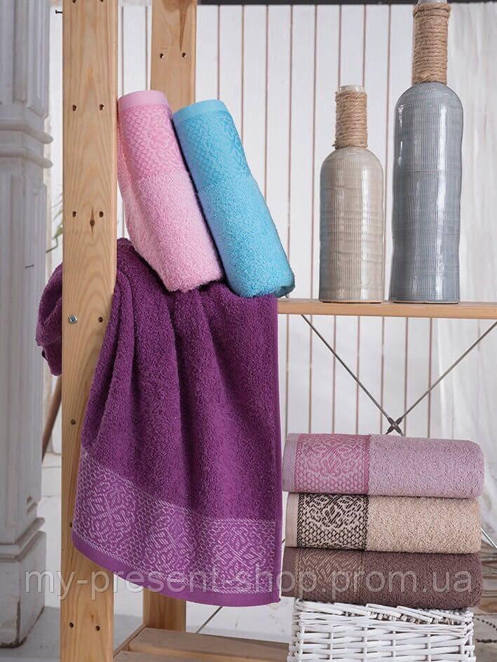Полотенца банные, лицевые хлопковые Sweat Dreams Motif Полотенца 70х140 см., 6 шт. махра