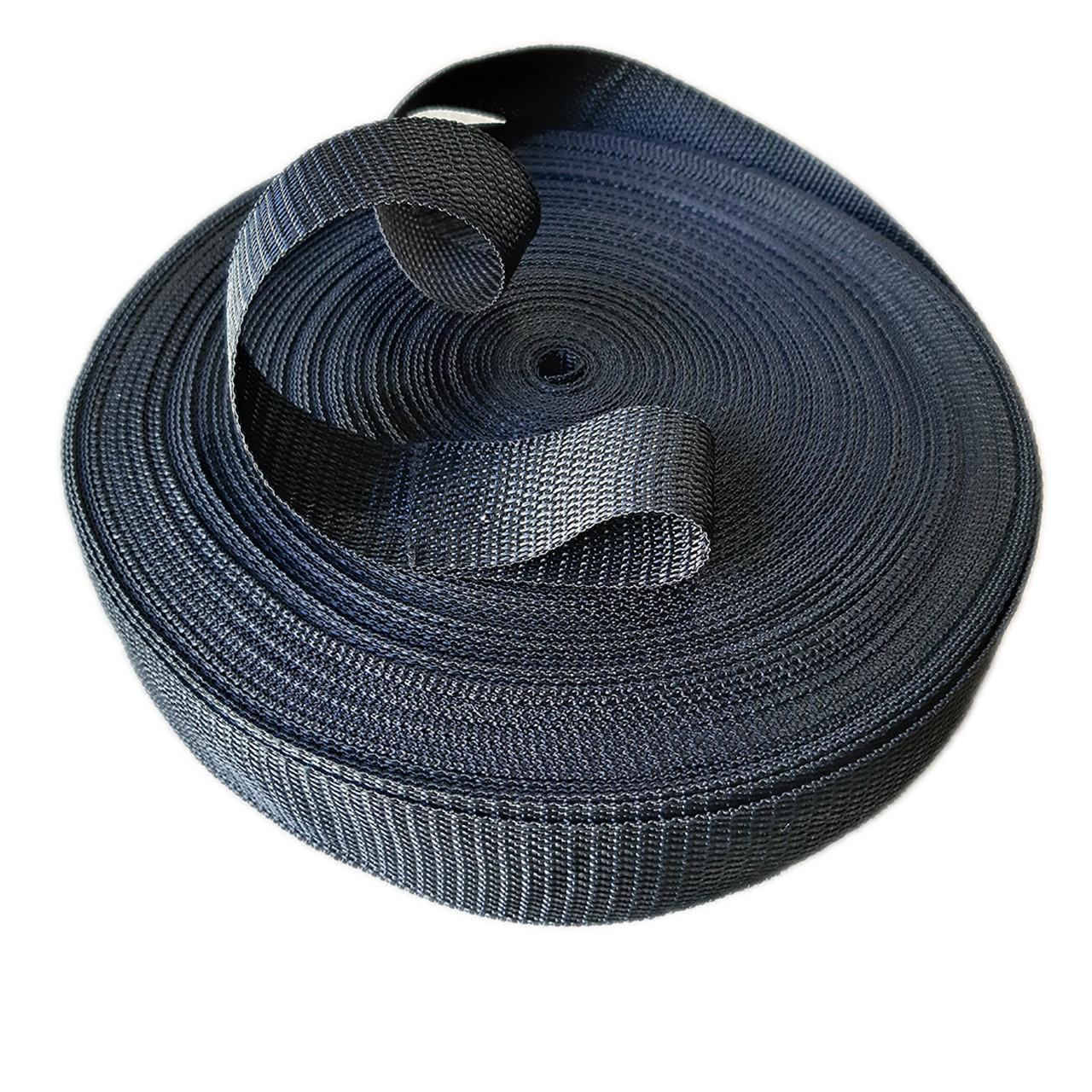 Стрічка сумочная рюкзачна 25 мм 50 м стропа ремінна поліпропіленова (синтетична)