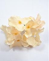 Ванільна гортензія 10см головка штучний квітка(головка), фото 1