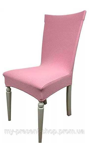 Чехлы на стулья Турция Клетка Розовый