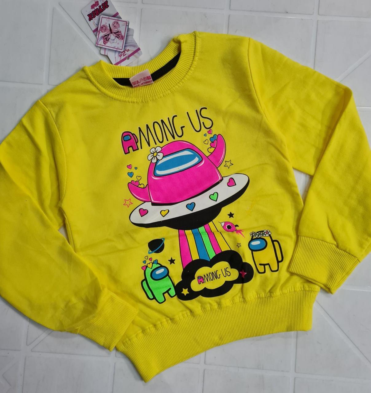 Блуза підліткова для дівчаток ошатна 1065.