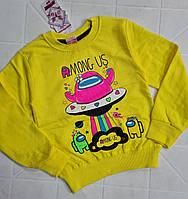Дитячій реглан для дівчаток трикотажний, фото 1