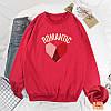 Красивый женский пуловер с сердцем 44-48 (в расцветках), фото 4