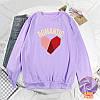 Красивий жіночий пуловер з серцем 44-48 (в кольорах), фото 3