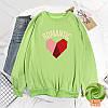 Красивый женский пуловер с сердцем 44-48 (в расцветках), фото 6