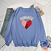 Красивый женский пуловер с сердцем 44-48 (в расцветках), фото 5