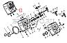 740.1003010-20 Головка блока КАМАЗ в сборе с клапанами и стойкой коромысла (2-й сорт), фото 5