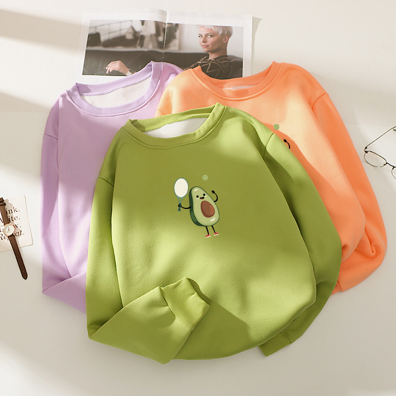 Модний жіночий пуловер з авокадо 44-48 (в кольорах)