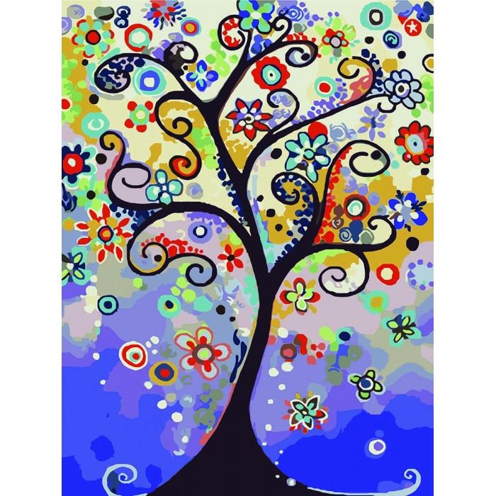 Картина по номерам  Дерево надежды ТМ Идейка 30 х 40 см КНО2824