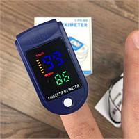 Пульсоксиметр на палець PULSE OXIMETER - портативний медичний пульсометр для вимірювання пулься і сатурації