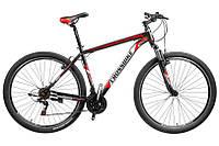 """CrossBike Велосипед Cross Atlas 29""""20"""" Черный-Красный-Белый"""