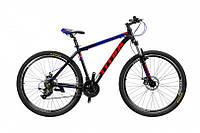 """TitanBike Велосипед Titan Extreme 29""""19"""" Чёрный-Красный-Голубой"""