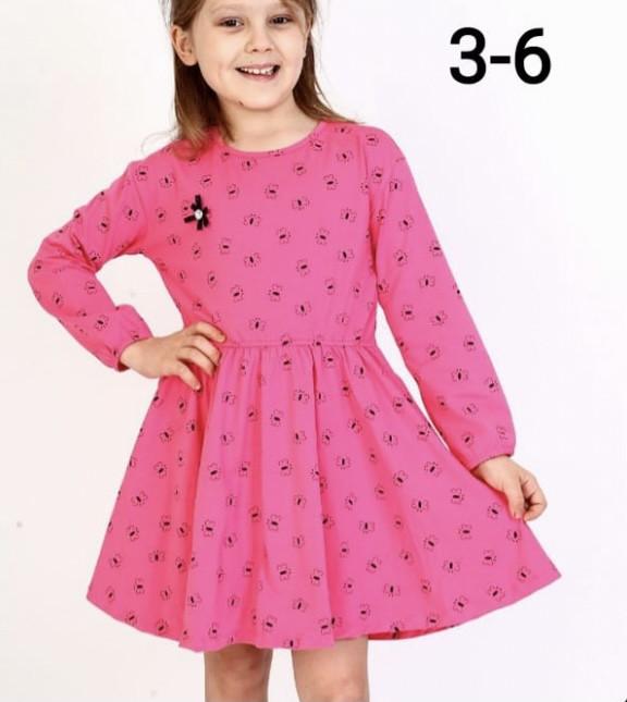 Детское платье для девочки р. 3-6 лет